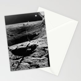 Apollo 16 - Moon Astronaut Crater Stationery Cards