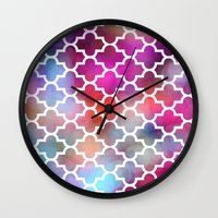 moroccan Wall Clocks featuring Moroccan by hollllllyj