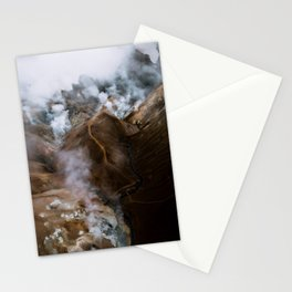 Kerlingarfjöll mountain range in Iceland - Aerial Landscape Photography Stationery Cards