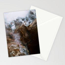 Kerlingarfjöll mountain range in Iceland - Aerial Landscape Photography Stationery Cards