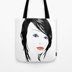 minimal girl 1 Tote Bag