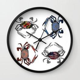 Ol' Crabs Wall Clock