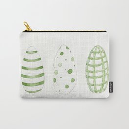 Easter Eggs. Green Easter Eggs. Carry-All Pouch
