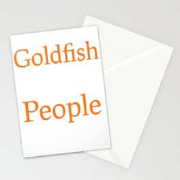 Goldfish Over People Stationery Cards