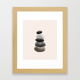 Take Cairn Framed Art Print
