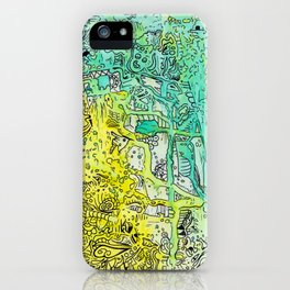 Water color 1 iPhone Case
