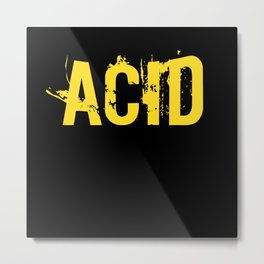 Acid Music TB 303 Bass Synthesizer Metal Print