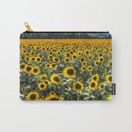 Sunflower Fields Of Summer Carry-All Pouch