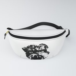 Brussels Griffon Dog Fanny Pack