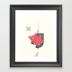 J's HOUSE Framed Art Print