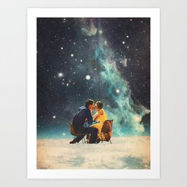 I'll Take you to the Stars for a second Date Art Print