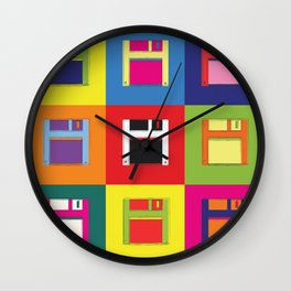 Return of the Floppy Disk Wall Clock