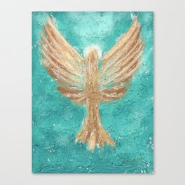 Graveel Angel of Peace Canvas Print