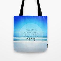 Inspiring Tote Bag
