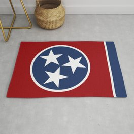 Tennessee: Tennessean Flag Rug