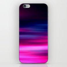 purple sunset II iPhone & iPod Skin