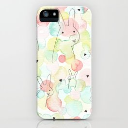 50 Shades Of Bunny iPhone Case