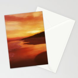 Autumn sunrise Stationery Cards