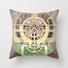 Composition III Throw Pillow