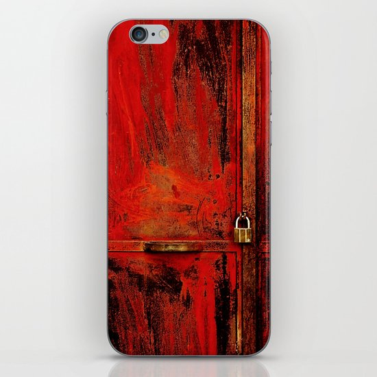 Red Door iPhone & iPod Skin
