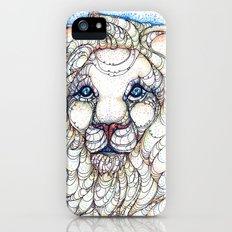 White Lion Slim Case iPhone (5, 5s)