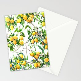 Lemons on the Tree Stationery Cards