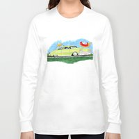 custom Long Sleeve T-shirts featuring Custom Ford by JasonKoons