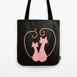 lovely cat Tote Bag
