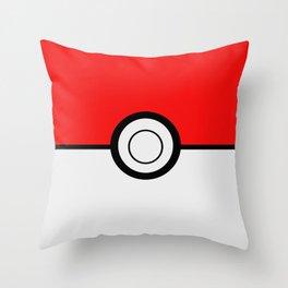 Poke Ball Pokeball Throw Pillow