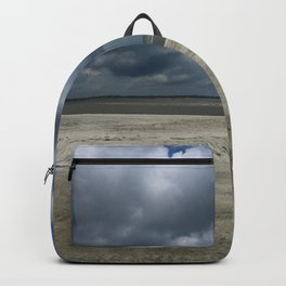 Dramatic Sky Over Golden Isles Beach Backpack