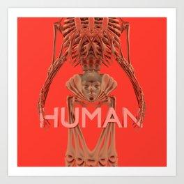 HUMAN (2019) - Redgrits Art Print