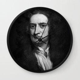 Sir Isaac Newton, 1702 Wall Clock