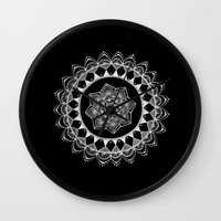 introvert Wall Clocks featuring The Introvert by JWRIGGS