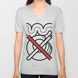 No Fumar/No Smoking Unisex V-Neck