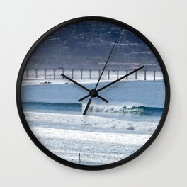 Aqua Playground Wall Clock