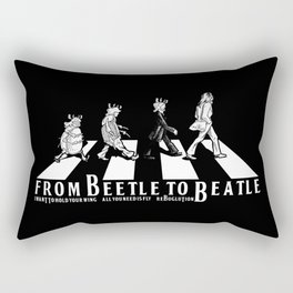 FROM BEETLE TO BEATLE Rectangular Pillow