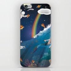 Intergalactic Undersea Pizza Party iPhone & iPod Skin