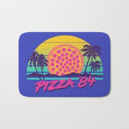 Pizza '84 Bath Mat