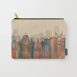 Wellington City Skyline, NZ - Navaho Carry-All Pouch
