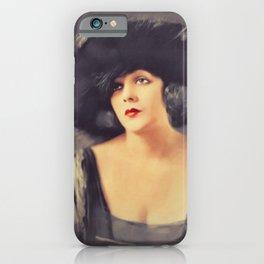 Barbara La Marr, Actress iPhone Case