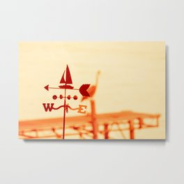 This Way to the Beach Metal Print