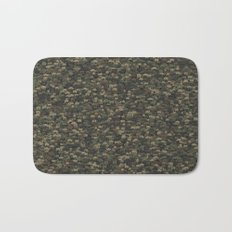 Invaders camouflage Bath Mat