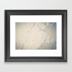 Wall Textures Framed Art Print