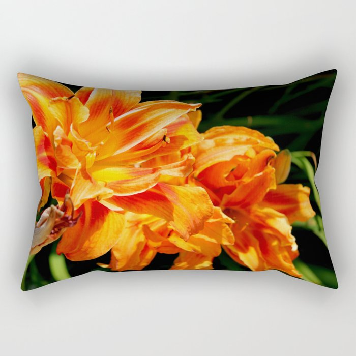 Grandmom's Flowers Rectangular Pillow