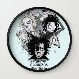 One Person's Craziness Wall Clock