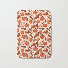 Pumpkin Fanatic Bath Mat