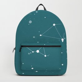Emerald Night Sky Backpack