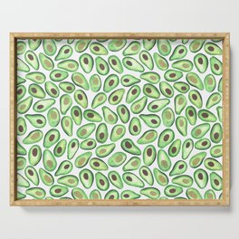 Is This Enough Avocados? - by Rachel Whitehurst Serving Tray
