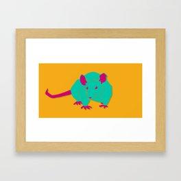 Big Rat Framed Art Print