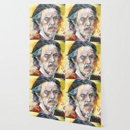 ALAN WATTS - watercolor portrait.4 Wallpaper